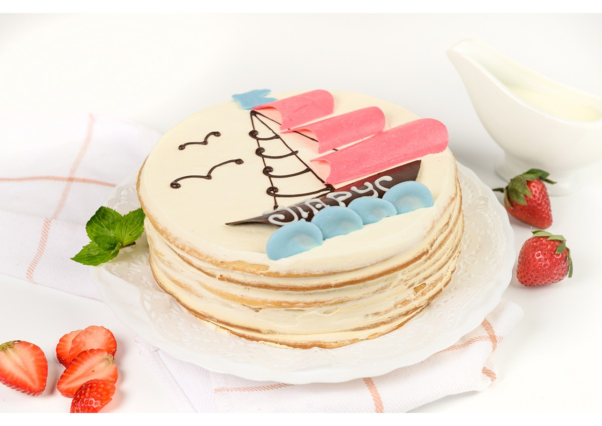 Торт сметанный «Парус»